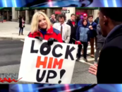 White Feminist Trump Basher Gets Shut Down By Street Black Conservative Young Man! #EpicOwnage (Video)