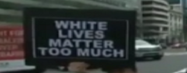 White Lives Matter Too Much! #WhiteLiberalsAreIdiots (Video)