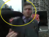 Leader of White Supremacist ALT Right Richard B Spencer Sucker Punched At Trump Inauguration Parade! (Video)