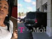 BT-1000 Crashes Into A T-Mobile Store With Her SUV Because She Was Having A Bad Day! (Video)