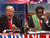 SNL & Alec Baldwin Rejoice As Cast Member Call President Donald Trump A Little White Bitch! (Video)