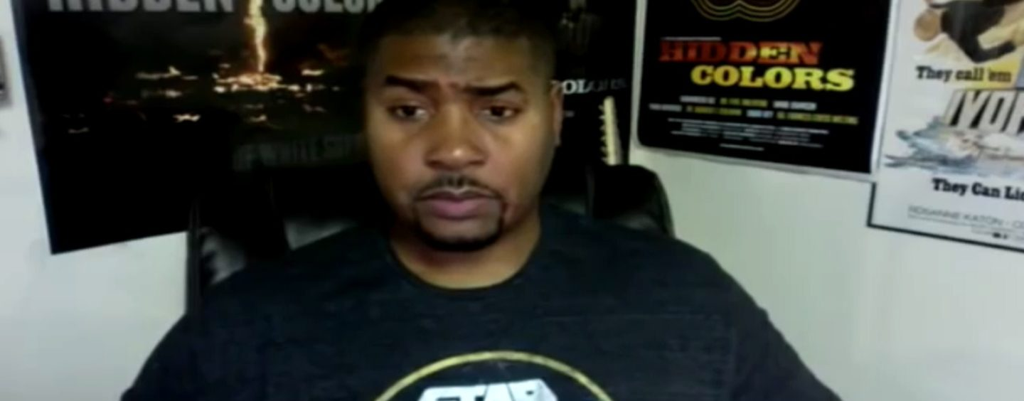 Tariq Nasheed Blames Tommy Sotomayor's Videos For Racist White Man Murdering Black Man In NY! (Video)