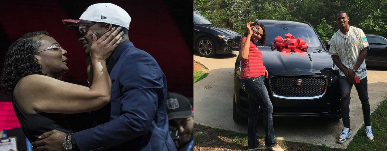 Texas Draft Non Intelligent QB Deshaun Watson Who Before Getting A Dime Splurged On His Single Black Mom! (Video)