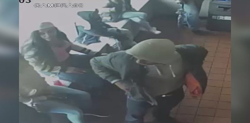 TeenNigglets Assault & Rob Chinese Restaurant Worker After Being Asked To Leave If They Weren't Buying Food! (Video)