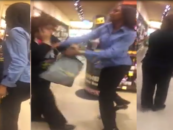 "Live Show! Black Chick Caught Stealing baby Formula A$$aults Clerks Then Yells ""She Got Money"" (Video)"