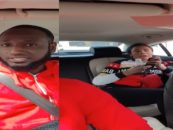 Ebony Chick Tries To Get Uber Driver Arrested With False Claims of Rape & Assault! (Video)