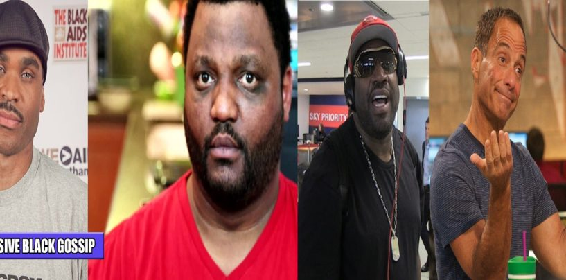 Corey Holcomb & Zo Williams Coonin' For Whites On TMZ About The Aries Spears Sucker Punch! (Video)