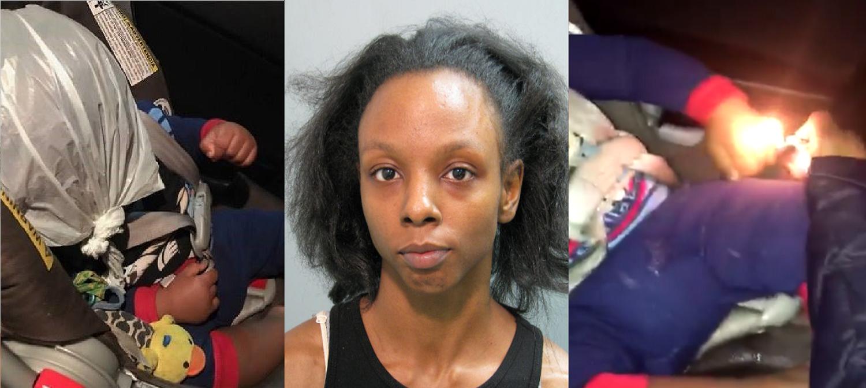BT-1100 Arrested For Burning & Torturing Her Infant Child