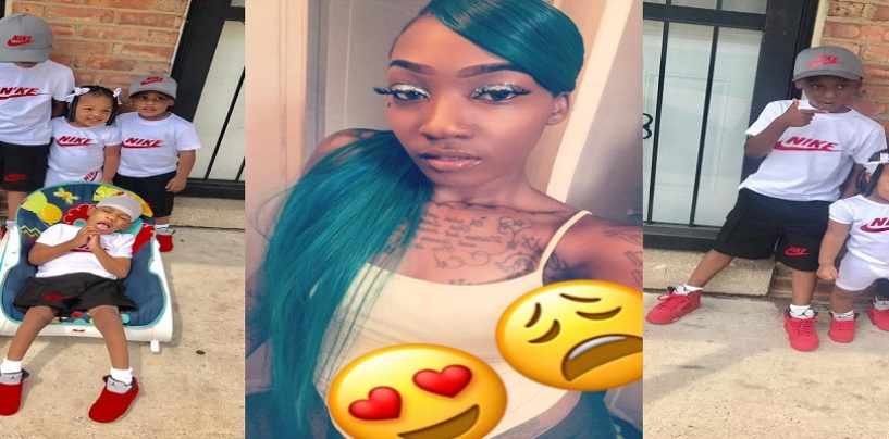 22 Year Old Black Mom Goes Viral Bragging About Having 5 Kids With Multiple Baby Daddies!! (Live Video) #iShitUNot