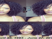 Natural Hair Blogger Meechy Monroe Dead Age 32 From A Rare Form Of Brain Cancer! (Video)
