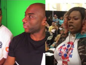 Black Trannies Ambush Charlamagne During An Event Over Comedian Lil Duvalls Joke On The Breakfast Club! (Video)