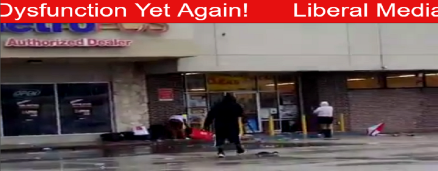 Why Does The Media Refuse To Cover The Looting Blacks Are Doing In Houston? 213-943-3362 (Video)