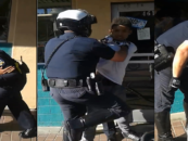 Who's Side Are You On? Messican Cops Harass & Physically Assault Black Teen On Bike Then Arrest Him!  (Video)