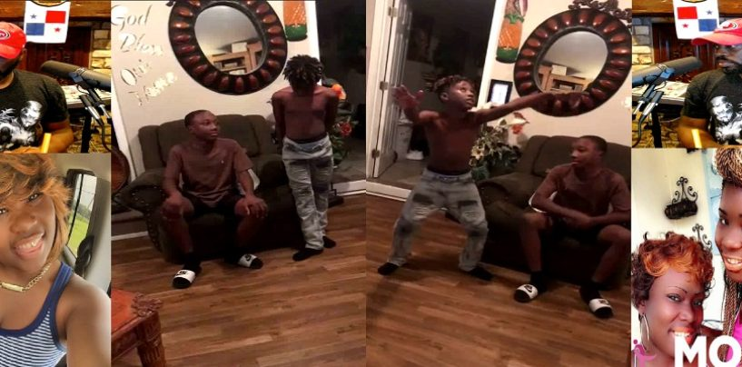 "Black Chick Records Her Kids Saying What They Would Do 4 Puzzy"" #iShitUNot (Video)"