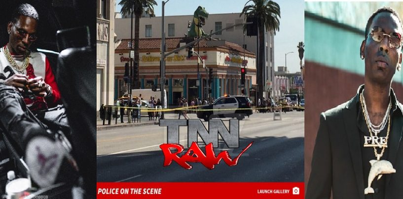 Rapper Young Dolph In Critical Condition After Being Shot By Niggly Bears In Hollywood Loews Hotel Valet!