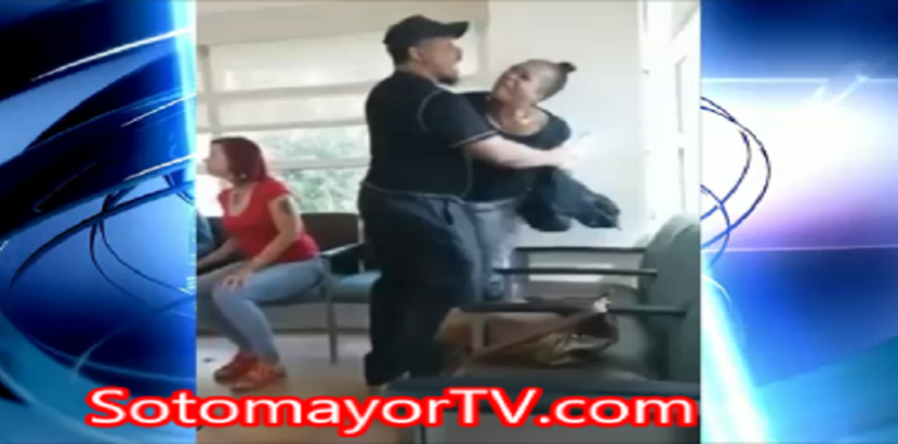 Black BattleBot Removes Her Phony Pony Weave To Challenge Mudshark At Doctors Office! (Video)