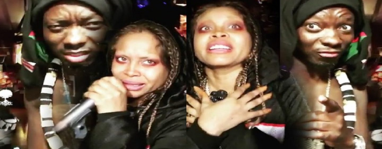 R&B Legend Eryka Badu Joins Other Black HoodWhores In Singing The #ForThatDick Challenge! BlackQueens (Video)