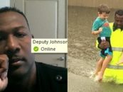 Hero Houston Sheriffs Deputy Rick Johnson Who Saved Lives During Hurricane Harvey Joins Me! (Video)