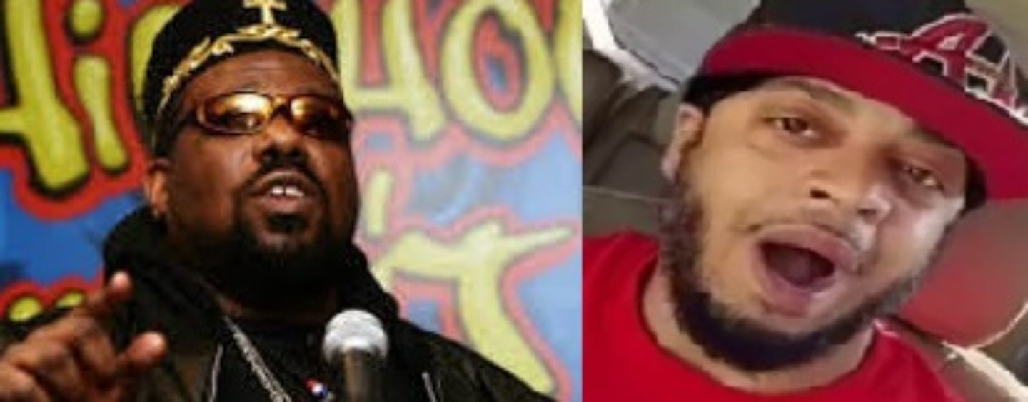 "Afrika Bambaataa's Ex Lover Hassan ""Poppy Poopy Pants"" Campbell Checks Tommy On His Kenneka Videos! (Video)"