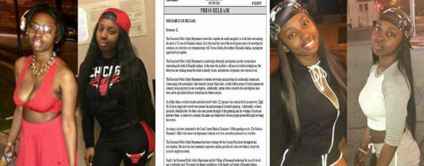 LIVE: Results From Autopsy Of Ken'neka Jenkins! Do You Trust The Findings? (Video)
