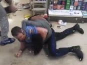 2 Philly Hair Hatted Hooligans Caught Stealing And Decide To Fight The Police To Get Out! (Video)
