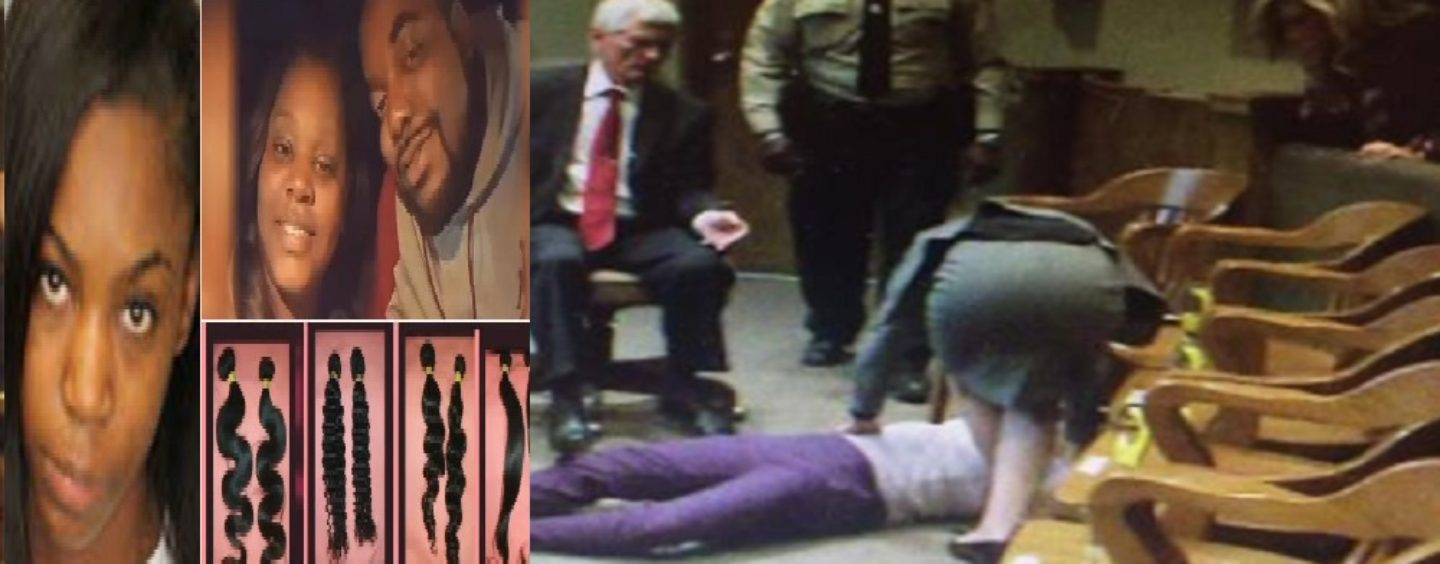BT-1100 Faints After Being Found Guilty In A Triple Murder Over Hair Weave! #iShitUNot (Video)
