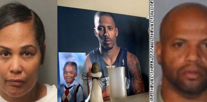 Police Arrest Ex Wife & Her Boyfriend 7 Years After The Murder Of NBA Player Lorenzen Wright! (Video)