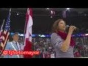 Canadian Singer Hilariously Ruins US National Anthem!