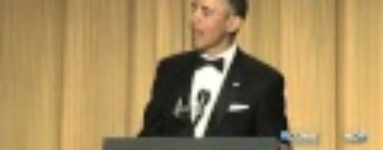 President Obama at 2013 White House Correspondents' Dinner CSPAN)-Hilarious