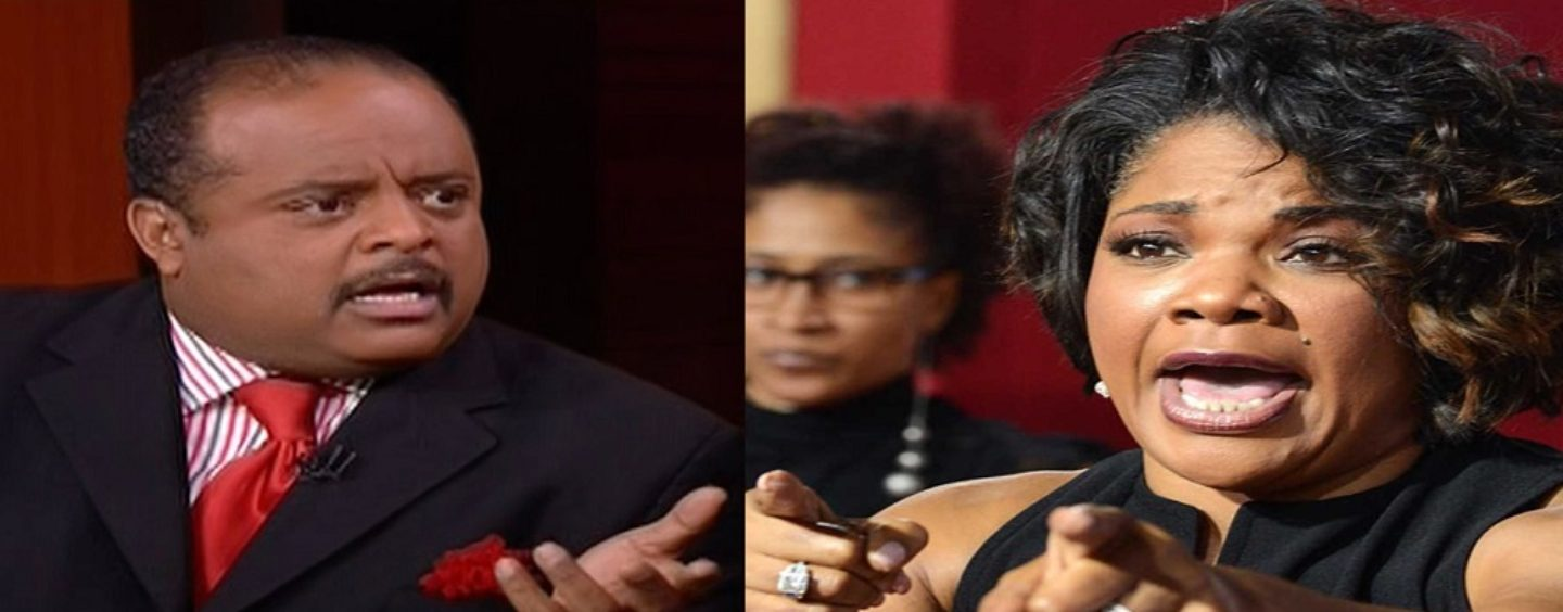 Roland Martin Goes In On Comedian Mo'Nique After She Came At Him On Twitter! ( Live Video)