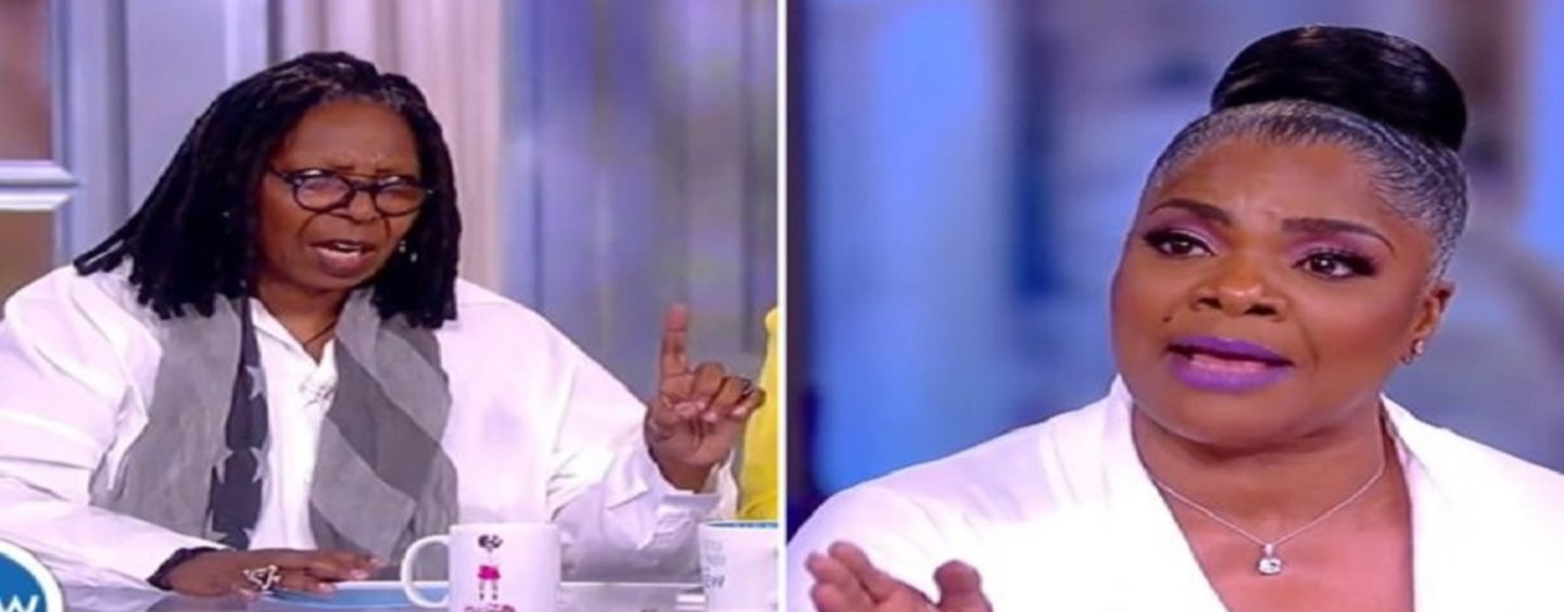 Whoopi Goldberg Schools Comedian Mo'Nique During The View On Not Being An Idiot! (Live Video)
