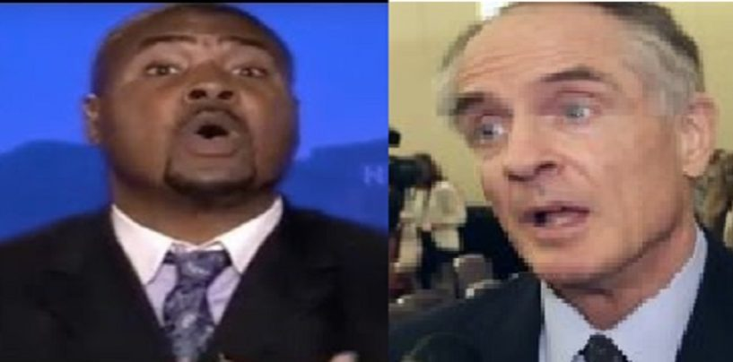 Tariq Nasheed Vs Jared Taylor Pt 2 Are Blacks Intellectually Inferior To Others? (Video)