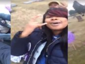 #RBT United Hair Hats of Chicago Dancing At The Grave Site Of Kenneka Jenkins! Black Women Are Just Idiots! (Video)