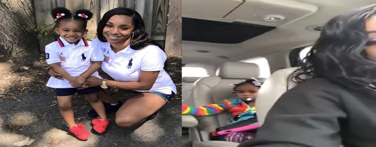 #Sexy Light Skin Mom Records Her Daughter Crying Over Her Deadbeat Dad But Was She Right For Doing This? (Live Broadcast)