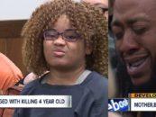 BT-1100 & Her ED-209 Boyfriend Starve & Beat Her 4 Year Old Daughter To Death! (Video)