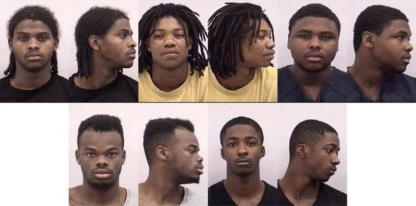 6 Niggly Bears, Including Relatives, Sentenced In Gang-Rape Of Mentally-ill Girl, 13, So Why Is The Community Outraged? (Video)