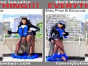 Seems Like Black Women Will Sexualize Any Thing Because Thats The Only Way They Can Get Attention! (Photo)