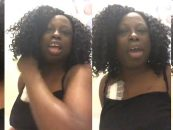 #ATW Black Chick Goes In On People While Having A Dialysis Tube On Her Chest! HILARIOUS! (Live Broadcast)