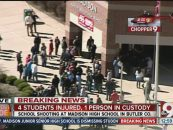Another School Shooting! Indiana Middle School Shooting Leaves Teacher & Student Injured 1 Suspect In Custody! (Video)