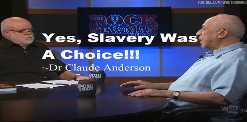 What If I Told U That ProBlack ICON Dr Claude Anderson Agrees With Kanye West & Tommy On Slavery? (Live Broadcast)