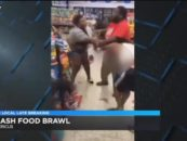 5 Hoodrat Black Hoes Arrested After Brawling In A Gas Station After Being Asked For I.D. #iShitUNot (Video)