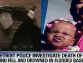 Black Women Grieving After Allowing 1 Year Old Baby To Drown In Basement Flooded With Sewer Water! (Video)