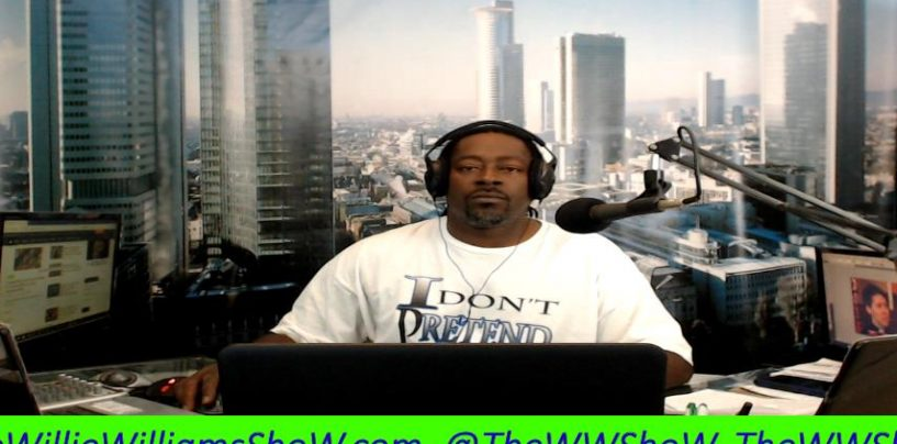 1on1 With YouTuber Willie Williams On How Men Today Are Acting Less Manly & Willingly Being Emasculated! (Live Broadcast)(