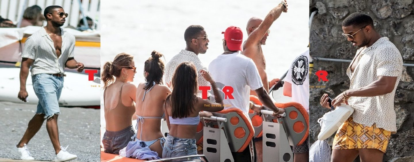 Do U Agree With Black Women Being Pissed At Micheal B Jordan For Vacationing With All White Women? (Live Broadcast)