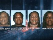 4 Fat Weave Wearing Black Women Arrested For Robbing, Beating & Stabbing Waitress At Applebees! (Video)