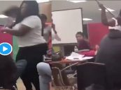 Dear White Parents: Dont, I Repeat, Dont Send Ur Kids To A Majority Black School, This Will Happen! (Live Broadcast)