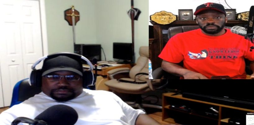 1on1 With The Mad Black Atheist About The Beef Between He & Tommy Sotomayor! (Live Broadcast)