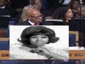Black Pastor Uses Aretha Franklin's Service To Go In On Single Moms & BLM! Do U Agree? (Video)
