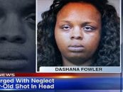 22 Year Old Mom Of 4 Charged With The Shooting Of Her 2 year Old Child In The Head! (Video)
