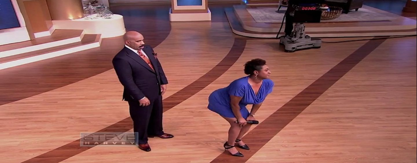 HCBW – Black Queen Tells Steve Harvey She Wants To Quit Her Job To Start Twerking At Age 32! See His Response! (Live Broadcast)